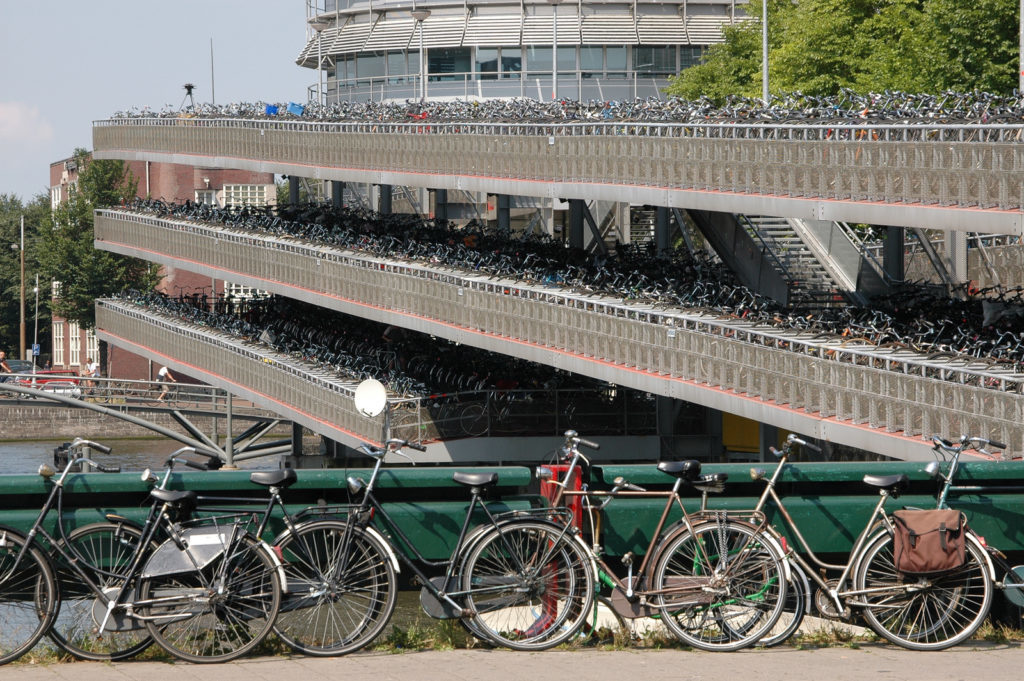 parking bicicletas holanda